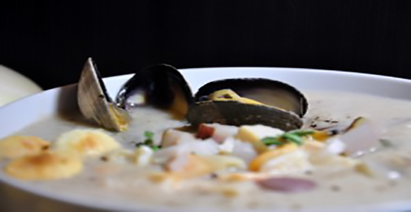 click here to read more about New England Style Clam Chowder