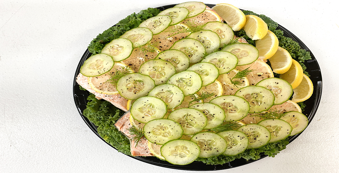 click here to read more about Poached Salmon Tray