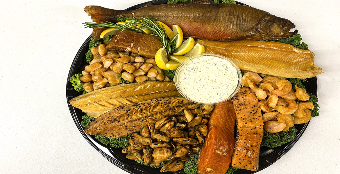 click here to read more about Smoked Seafood Platter